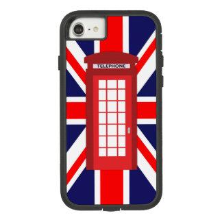 Capa iPhone 8/ 7 Bandeira britânica de Union Jack da caixa do