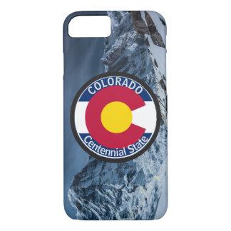 Capa iPhone 8/ 7 Bandeira da circular de Colorado