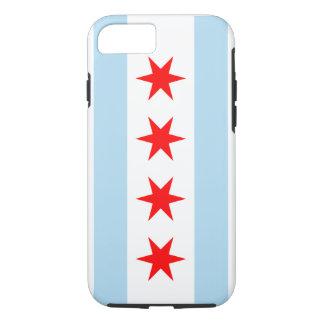 Capa iPhone 8/ 7 Bandeira de Chicago - caso de Iphone 7 (caso