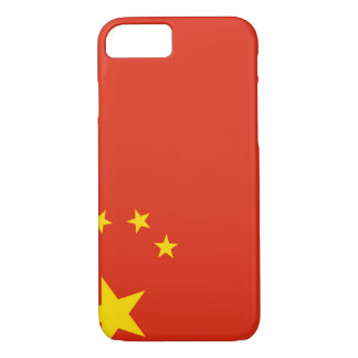 Capa iPhone 8/ 7 Bandeira de China