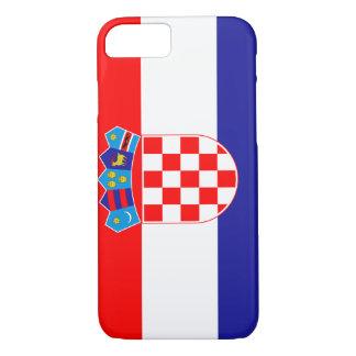 Capa iPhone 8/ 7 Bandeira de Croatia