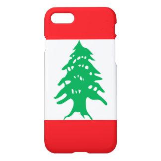 Capa iPhone 8/7 Bandeira de Líbano
