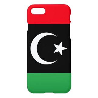 Capa iPhone 8/7 Bandeira de Líbia
