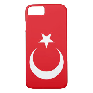 Capa iPhone 8/ 7 Bandeira de Turquia
