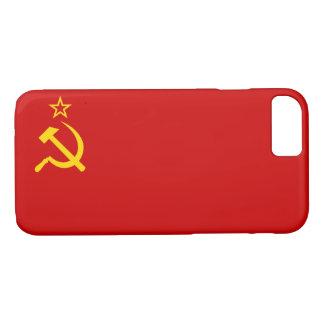 Capa iPhone 8/ 7 Bandeira de URSS