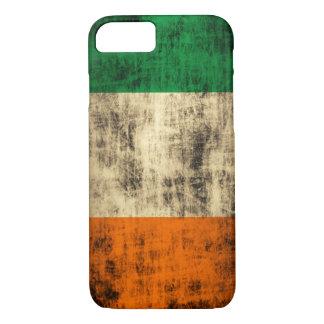 Capa iPhone 8/ 7 Bandeira do irlandês do Grunge
