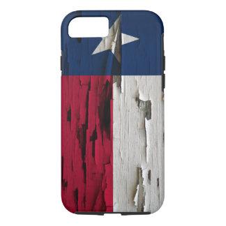 Capa iPhone 8/ 7 Bandeira do olhar da casca da pintura de Texas
