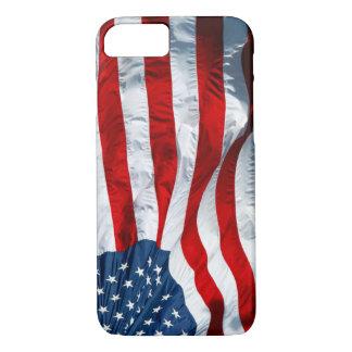 Capa iPhone 8/ 7 bandeira dos Estados Unidos