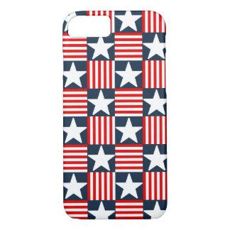 Capa iPhone 8/ 7 Bandeira dos Estados Unidos bonito