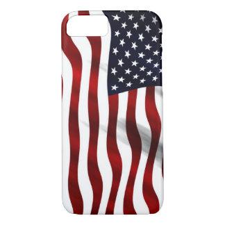 Capa iPhone 8/ 7 Bandeira dos EUA