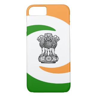 Capa iPhone 8/ 7 Bandeira espiral indiana