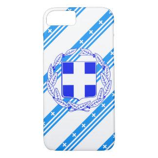 Capa iPhone 8/ 7 Bandeira grega das listras