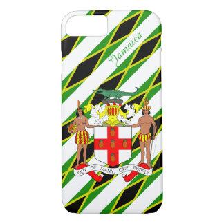 Capa iPhone 8/ 7 Bandeira jamaicana das listras