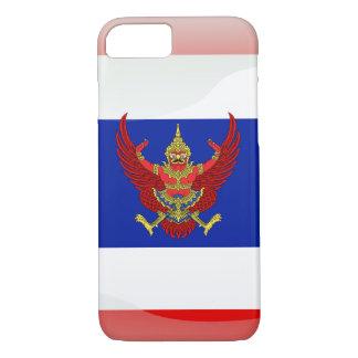 Capa iPhone 8/ 7 Bandeira lustrosa de Tailândia