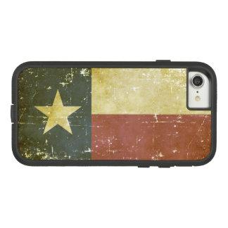 Capa iPhone 8/ 7 Bandeira patriótica gasta do estado de Texas