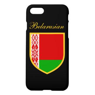 Capa iPhone 8/7 Bandeira personalizada de Belarus