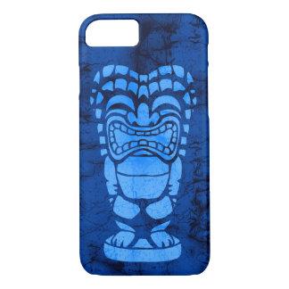 Capa iPhone 8/ 7 Batik de riso havaiano de Tiki da praia de Makapuu