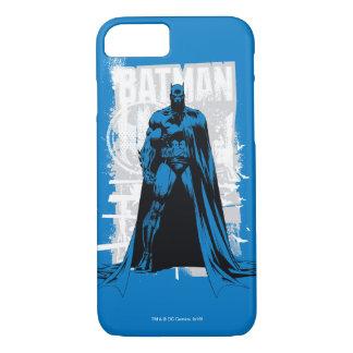 Capa iPhone 8/ 7 Batman cómico - vintage de vista completa
