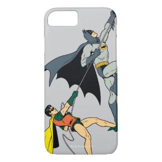 Capa iPhone 8/ 7 Batman e escalada 2 do pisco de peito vermelho
