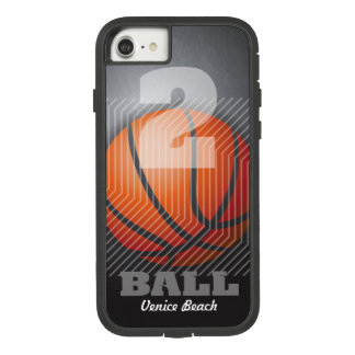 Capa iPhone 8/ 7 BBall #2 no preto