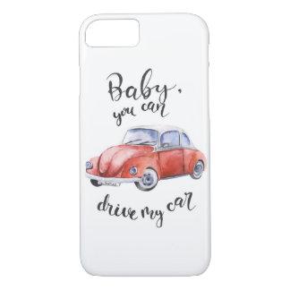 Capa iPhone 8/ 7 Bebê, você pode conduzir meu carro
