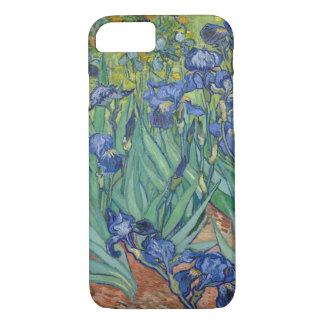 Capa iPhone 8/ 7 Belas artes de GalleryHD das íris de Vincent van