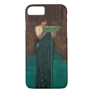 Capa iPhone 8/ 7 Belas artes do Pre-Raphaelite do Waterhouse de