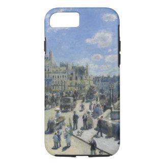Capa iPhone 8/ 7 Belas artes do vintage de Auguste Renoir Pont Neuf