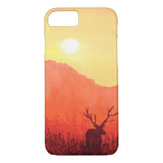 Capa iPhone 8/ 7 Beleza do explorador da natureza da floresta do