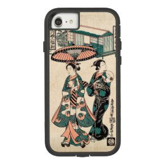 Capa iPhone 8/ 7 Belezas de Fukagawa (impressão do japonês do