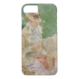 Capa iPhone 8/ 7 Berthe Morisot - confecção de malhas da jovem