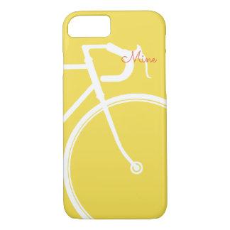 Capa iPhone 8/ 7 Bicicleta abstrata