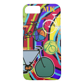 Capa iPhone 8/ 7 bicicleta: bicicletas; ciclista legal