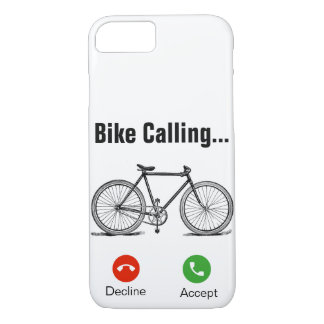 Capa iPhone 8/ 7 Bicicleta chamar… iPhone 7/8 de caso