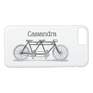 Capa iPhone 8/ 7 Bicicleta do vintage construída para