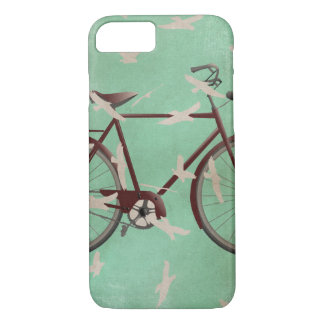Capa iPhone 8/ 7 Bicicleta do vintage e caso do iphone 7 dos