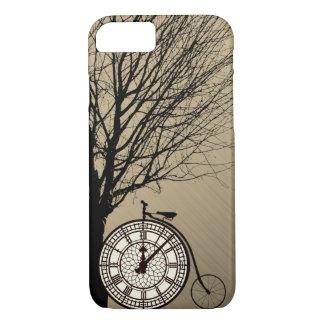 Capa iPhone 8/ 7 Bicicleta Iphone do dia do londrino de Big Ben