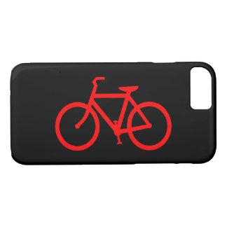 Capa iPhone 8/ 7 Bicicleta vermelha