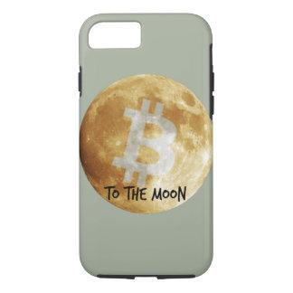 Capa iPhone 8/ 7 Bitcoin ao exemplo do iPhone 7 da lua