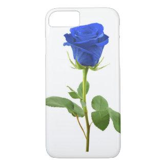 Capa iPhone 8/ 7 Blue rosa para telefone portátil Sua Apple!