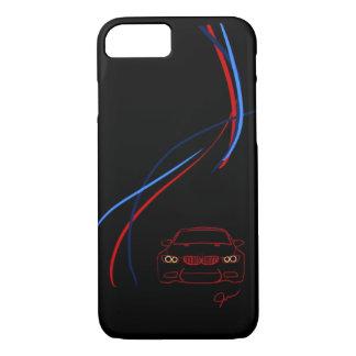 Capa iPhone 8/ 7 BMW M3 listra o iPhone 8/7 de caso