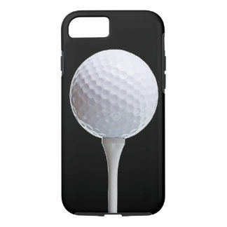 Capa iPhone 8/ 7 Bola de golfe no preto - modelo personalizado
