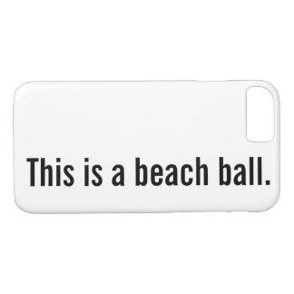Capa iPhone 8/ 7 bola de praia