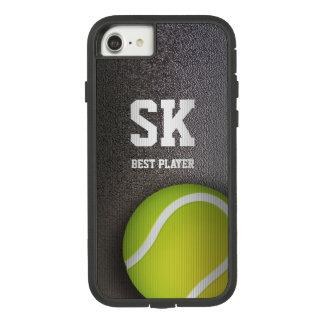 Capa iPhone 8/ 7 Bola de tênis verde personalizada