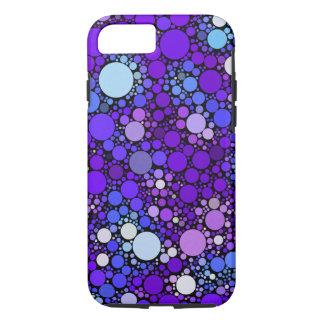 Capa iPhone 8/ 7 Bolhas de Zazzy, azuis
