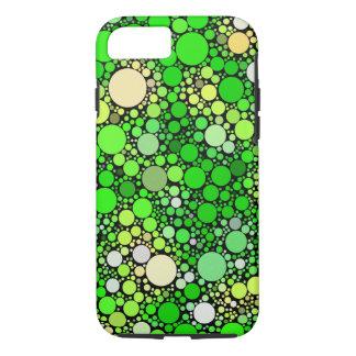 Capa iPhone 8/ 7 Bolhas de Zazzy, verdes