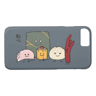 Capa iPhone 8/ 7 Bolo chinês dos bolos da bolinha de massa de Bao