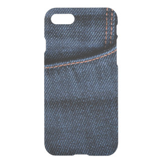 Capa iPhone 8/7 Bolso de calças de ganga