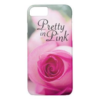 Capa iPhone 8/ 7 Bonito no rosa do rosa