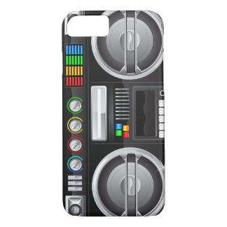 Capa iPhone 8/ 7 boombox retro do dinamitador do gueto da caixa de